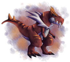Pkmn Challenge Day o3 - Dragon by Ancallis