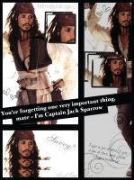 Captain Jack Sparrow by BeautifullyDecayed22