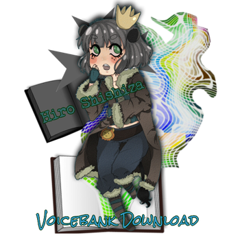 Hiro Shishiza Voicebank Download Signature Art by Meilice