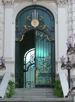 Royal door by calger459