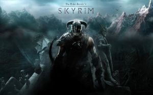 TESV Skyrim wallpaper 2 by Revan1337