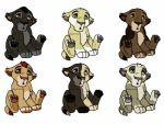 [CLOSED!] Mystery Lion Cubs by MacMacaroni
