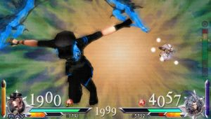 Disc To Gunblade Fight: Dissidia 012 Final Fantasy by liltone93