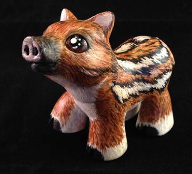 A Baby Boar  for my sister - Side by KimmersCustoms