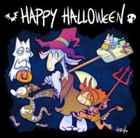 This is Halloween by vaporotem