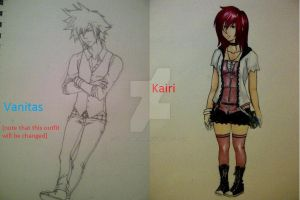 Acceptance- Vanitas And Kairi Concept Art by GarnetsSinfulMelody