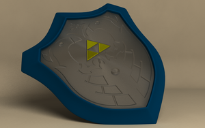 Wind Waker Mirror Shield by ShitsoCash