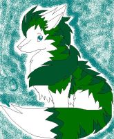 this is the another earth fox (male) by Ponyness1