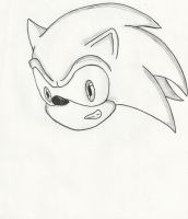 Fan Art - Sonic the Hedgehog-WIP by LuckyWolf27