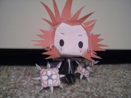 Axel papercraft by DuckHunter111