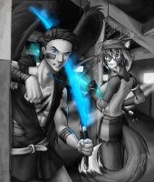 Holding Out For A Hero by evion
