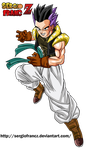 Gotenks gt colored by SergioFrancZ