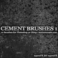 Cement Brushes 1 by AscendedArts