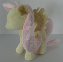 Fluttershy Front View by PonyPlush