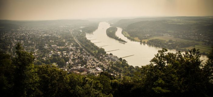 Drachenfels Panorama by teuphil