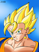 Vegetto SSJ by Leila490