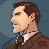MAD MEN: Don Draper by grantgoboom