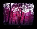 Pink Forest by caithness155