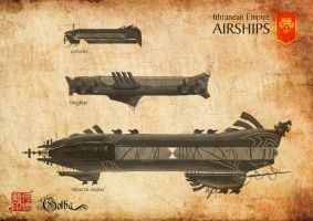 Ithranean Airships by gingertom84