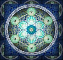Sacred Geometry 1 by ArtOfWarStudios
