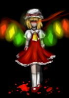 Touhou project - Flandre Scarlet by Himari-chan
