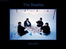 Beatles: Chillin' by kiki-isbeing-purples