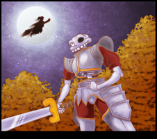 Medievil - Happy halloween by Grethe--B