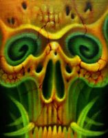 Skull (from within) by KenCarrano