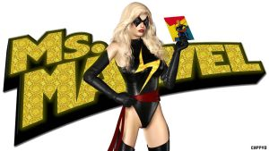 Ms. Marvel........not Impressed! by Cappy3pinups