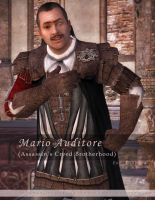 Mario Auditore for XNALara by raccooncitizen