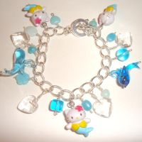 Hello Kitty Charm Bracelet 2 by AndyGlamasaurus