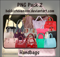 PNG Pack 02 - Handbags by BekkiStevenson