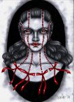 The Red Ribbon Doll by Bdellian