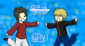 Iscribble: They aren't gay... by Baka-Neko-Ninja