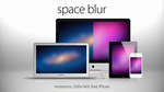 Space Blur: Minimalistic Wallpapers by theIntensePlayer