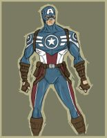CAP REASSEMBLED by MBrazee