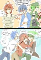 Dick Figures x Happy Tree Friends Crossover by ANCYoyoib