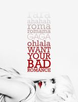 GAGA :: BAD ROMANCE by sorairo-days