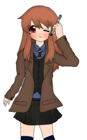 10th Doctor Mikuru by soundwave023