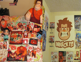 My Wreck it Ralph Collection by DarkwingFan