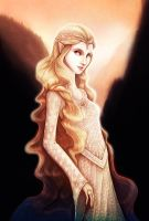 Galadriel Lady of Light by francis-john