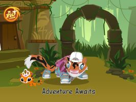 That is me in AnimalJam by starryfan