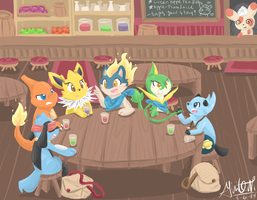 [Commish] Two-team Crossover by Giniqua