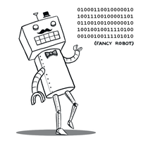 Fancy Robot by arseniic