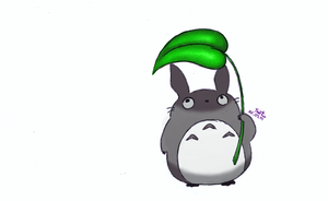 Little Totoro color ver. by Mira-Vegas