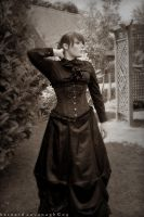 Victorian Garden by horai