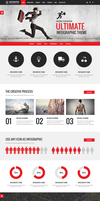 Infographer A premium wordpress theme by wpthemes