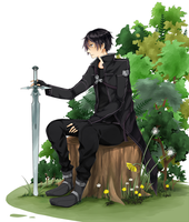 SAO: k i r i t o by strawberry-queen1