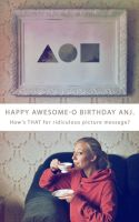 Happy BDAY anj by Heinonen