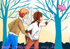 PoP Valentine's Day Event - Athena x Aspen by TinyPaperHearts
